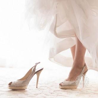 Cenicienta y su zapato de cristal
