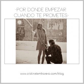 Por dónde empezar cuando te prometes