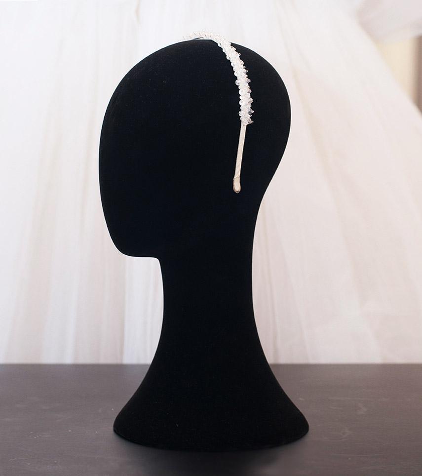 Diadema Cintro novia