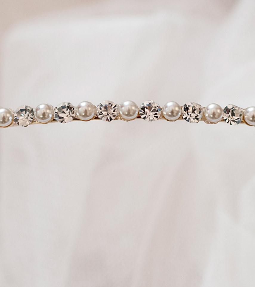 Diadema Cisne novia