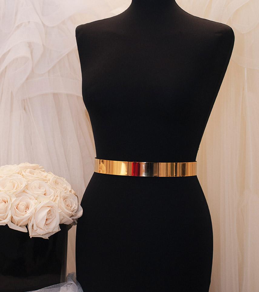 Cinturón dorado Cristina Tamborero