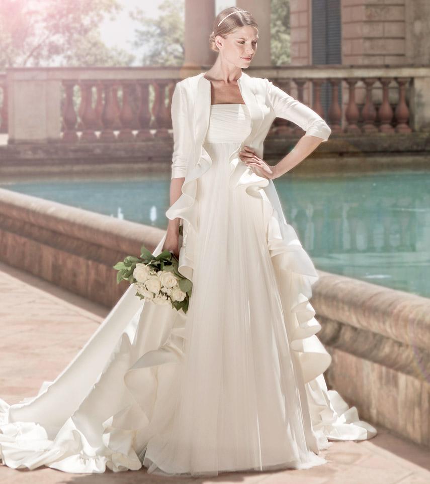 Vestido novia Olaya