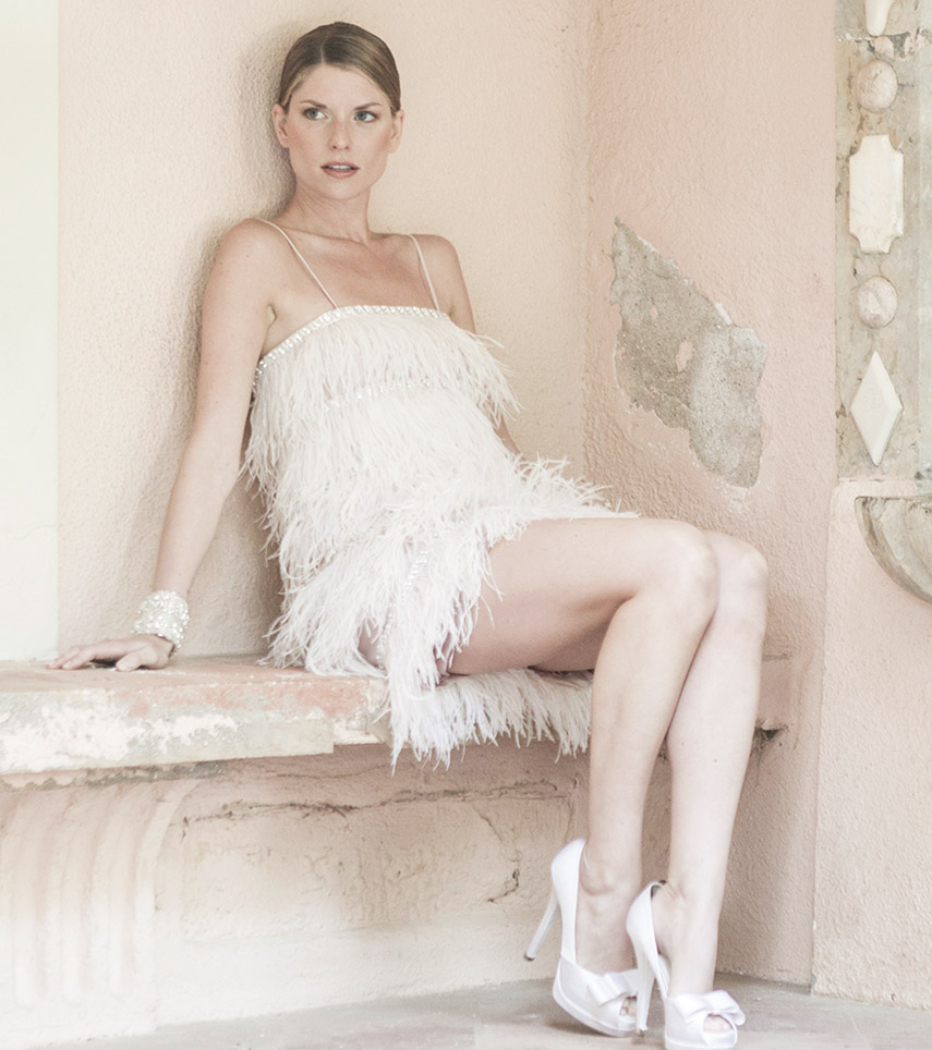 Modelo Oriana novia