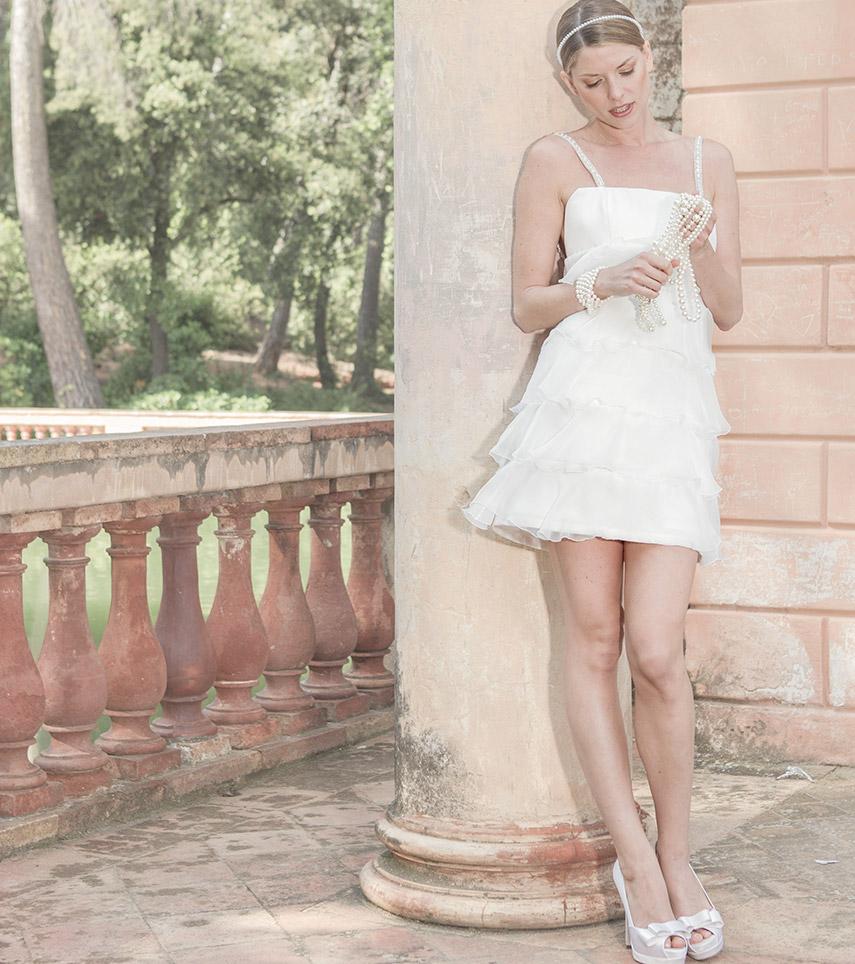 Modelo Otilia novia
