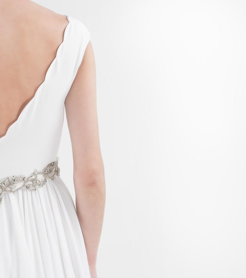 Vestido novia tirantes