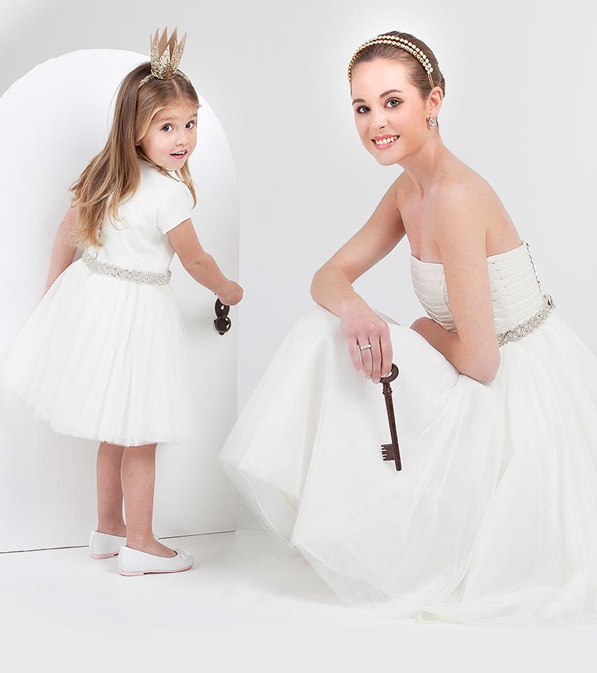 Vestido novia corto Anastasia