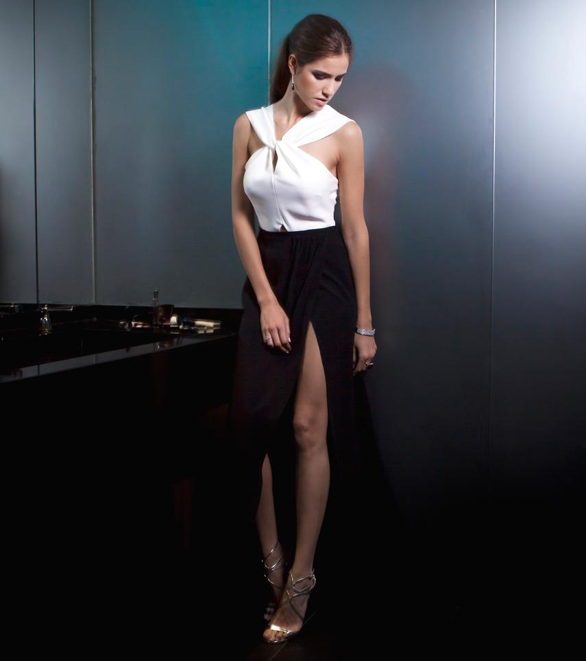 Diseño vestido invitada Macarena