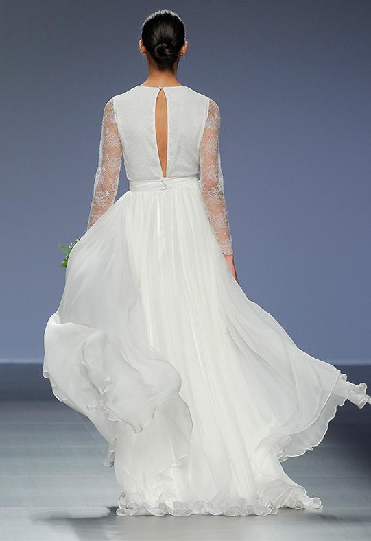 Barcelona Bridal Week diseño Agnes