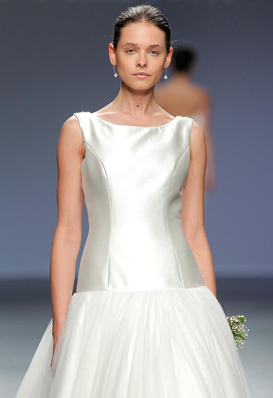 Barcelona Bridal Week modelo Amanda