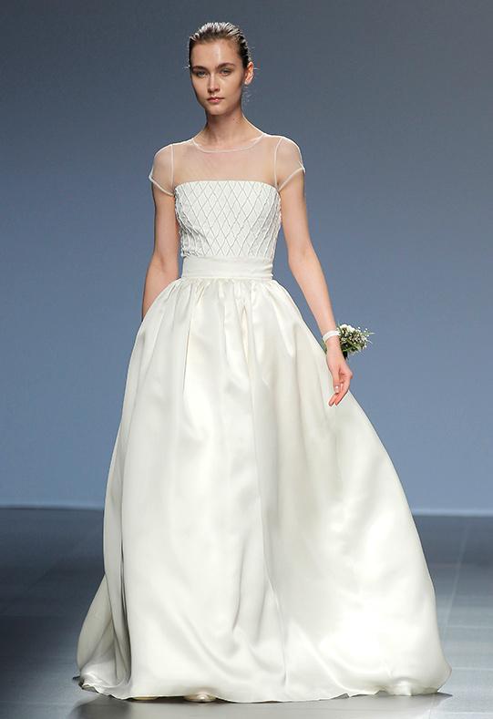 Barcelona Bridal Week vestido Antonella