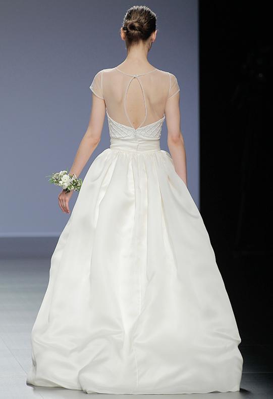 Barcelona Bridal Week novia Antonella