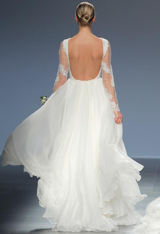 Barcelona Bridal Week modelo Adela