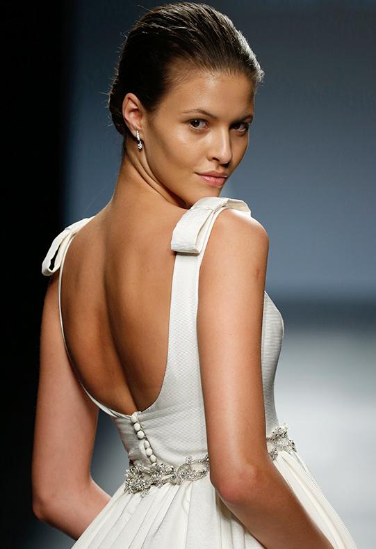 Barcelona Bridal Week modelo Aida