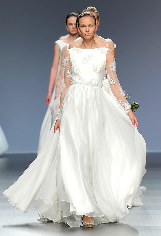 Barcelona Bridal Week diseño Adela