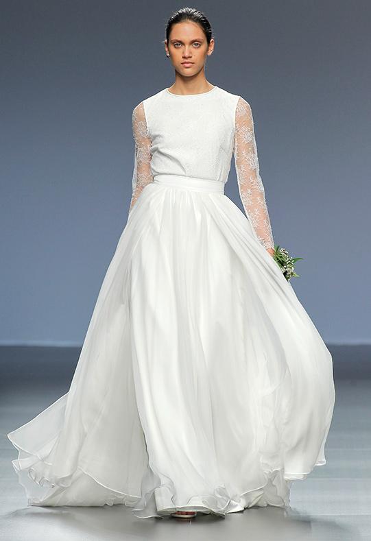 Barcelona Bridal Week modelo Agnes