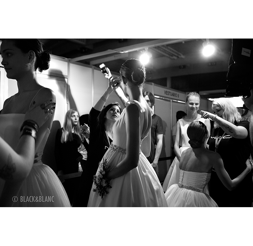 Barcelona Bridal Week Backstage