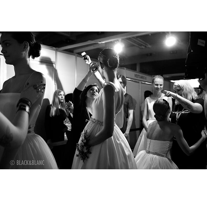 Barcelona Bridal Week Backstage
