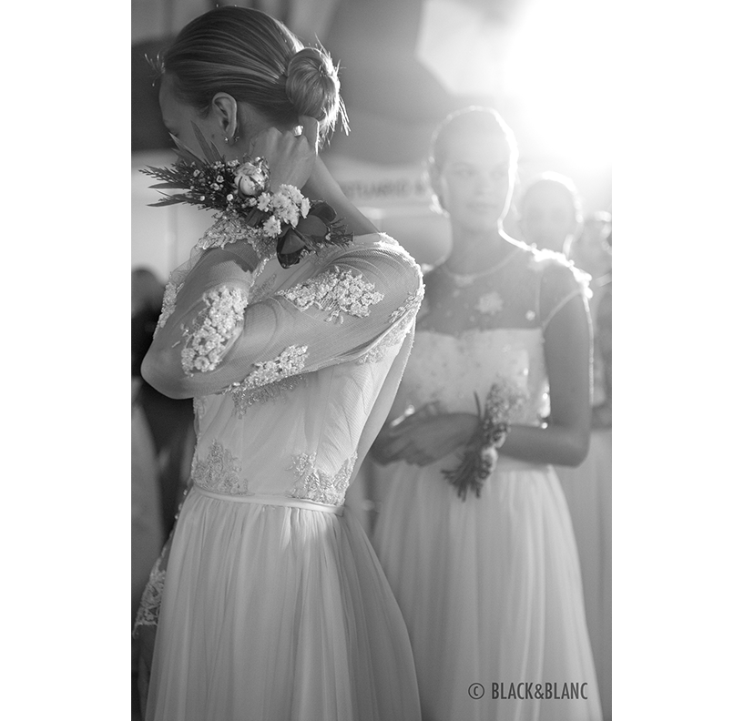 Backstage Bridal Week 2015