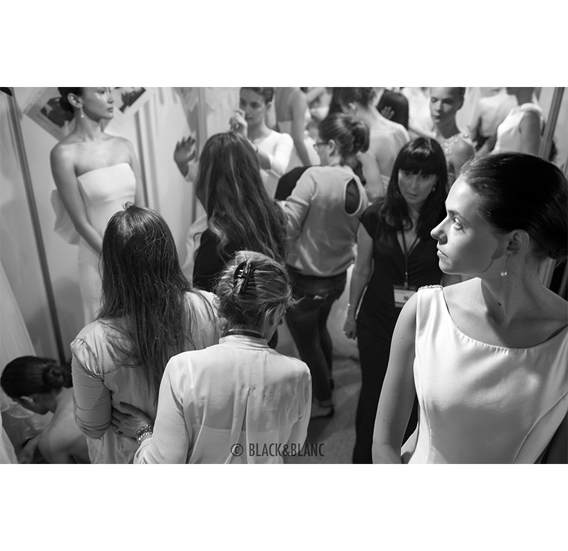 Backstage Barcelona Bridal Week 2015