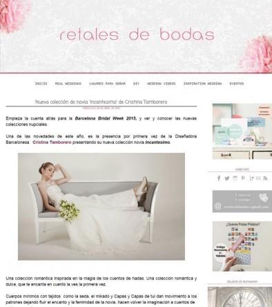 RETALES DE BODAS