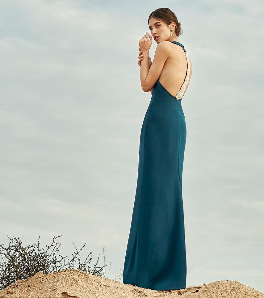 Vestido largo Cristina Tamborero