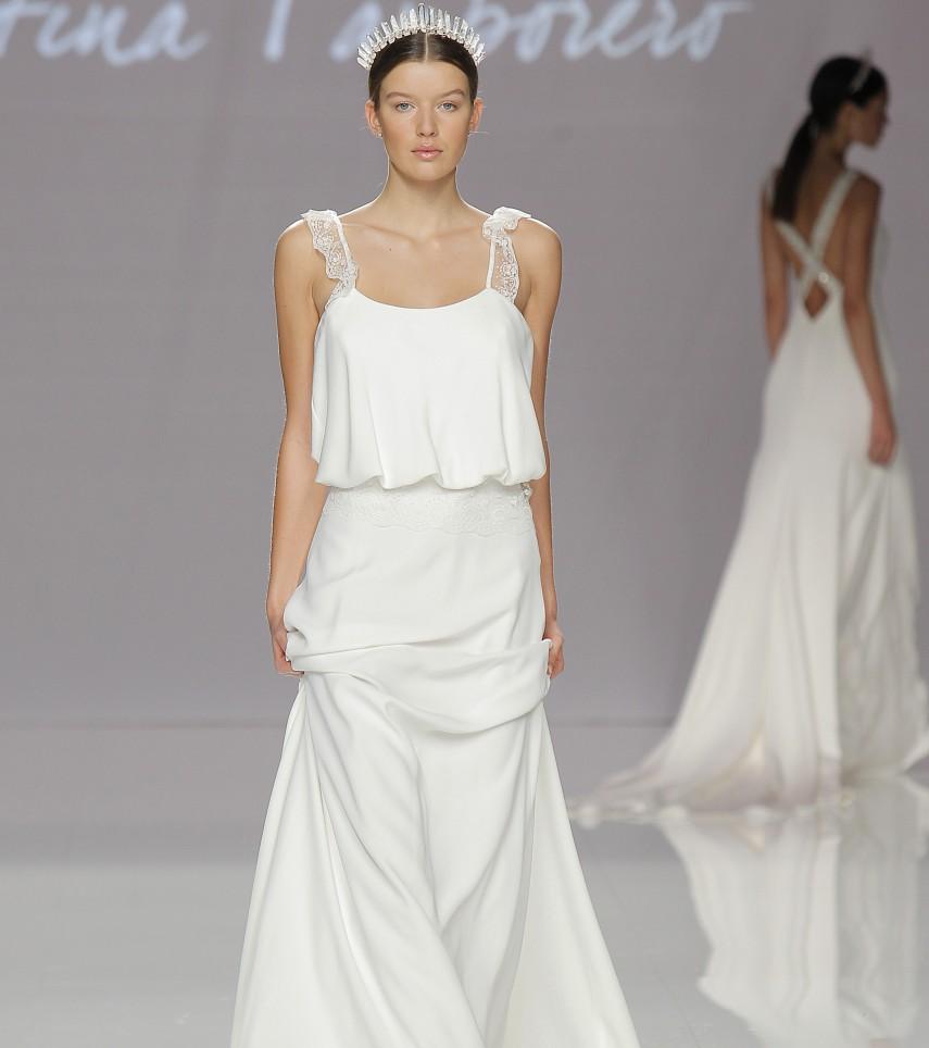 "Vestido novia ""Carrie"" de Cristina Tamborero"