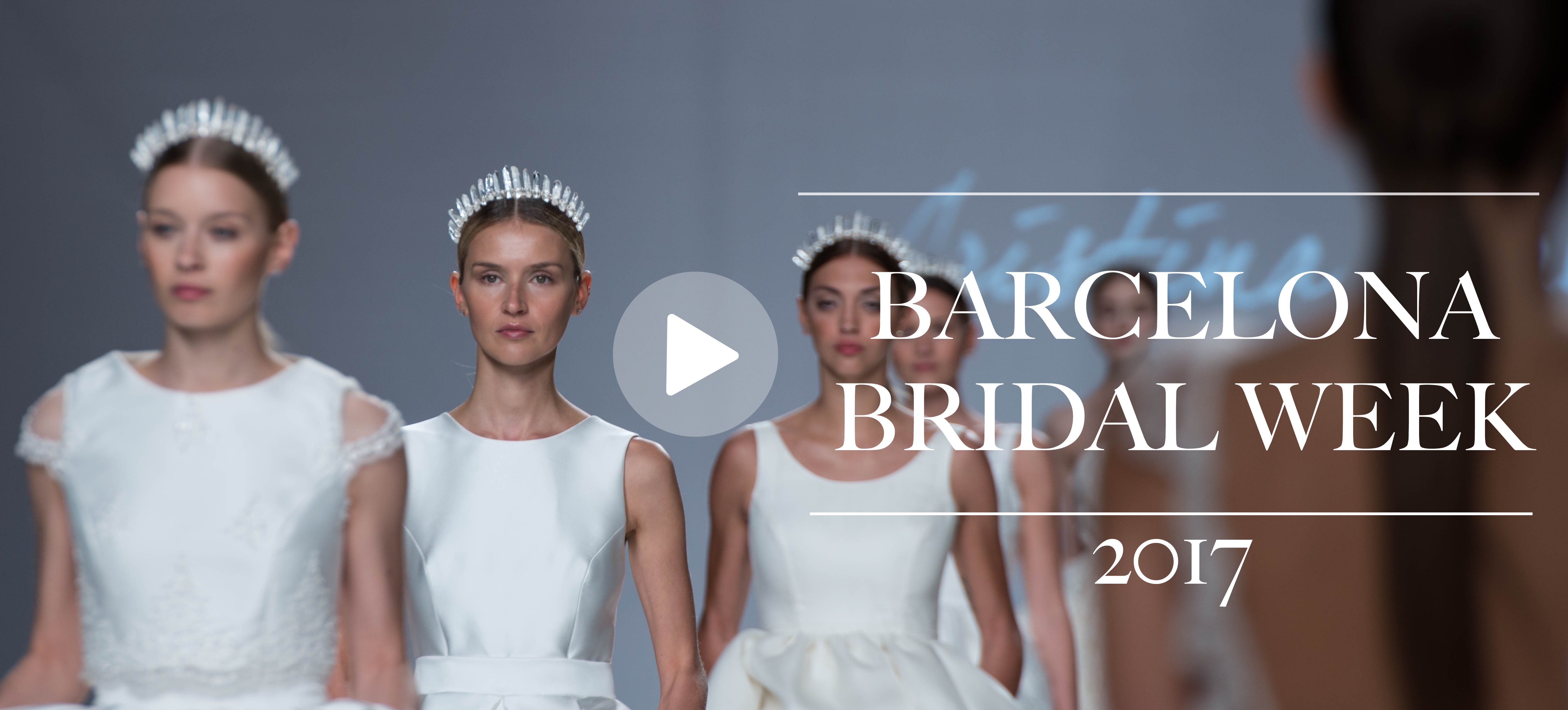 Desfile Barcelona Bridal Week 2017