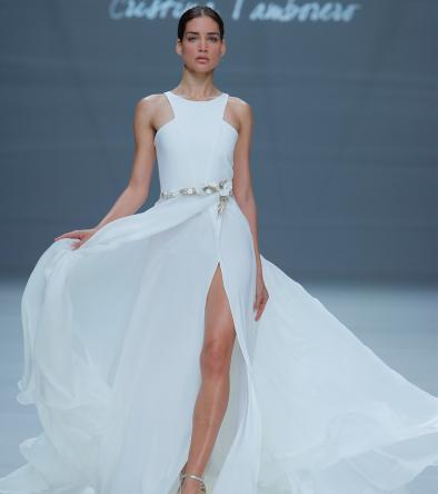 Vestido de novia de Cristina Tamborero