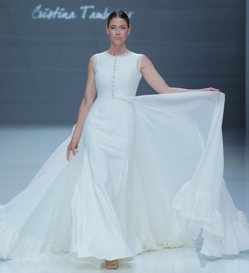 """Vestido novia """"Dakota"""" de Cristina Tamborero"""