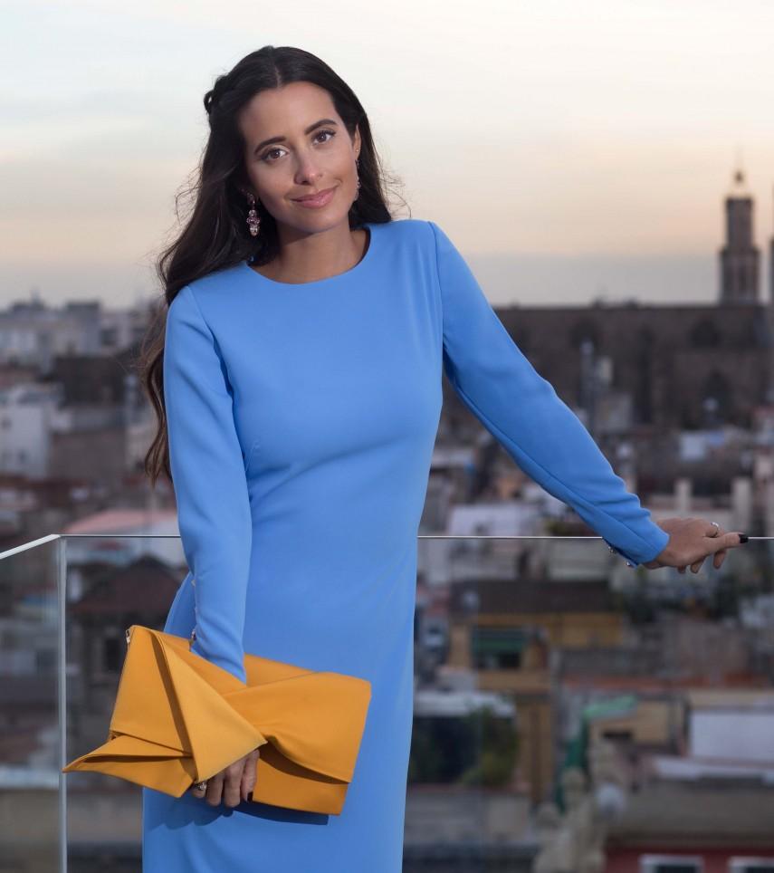 "Vestido Fiesta ""Rania"" de Cristina Tamborero"