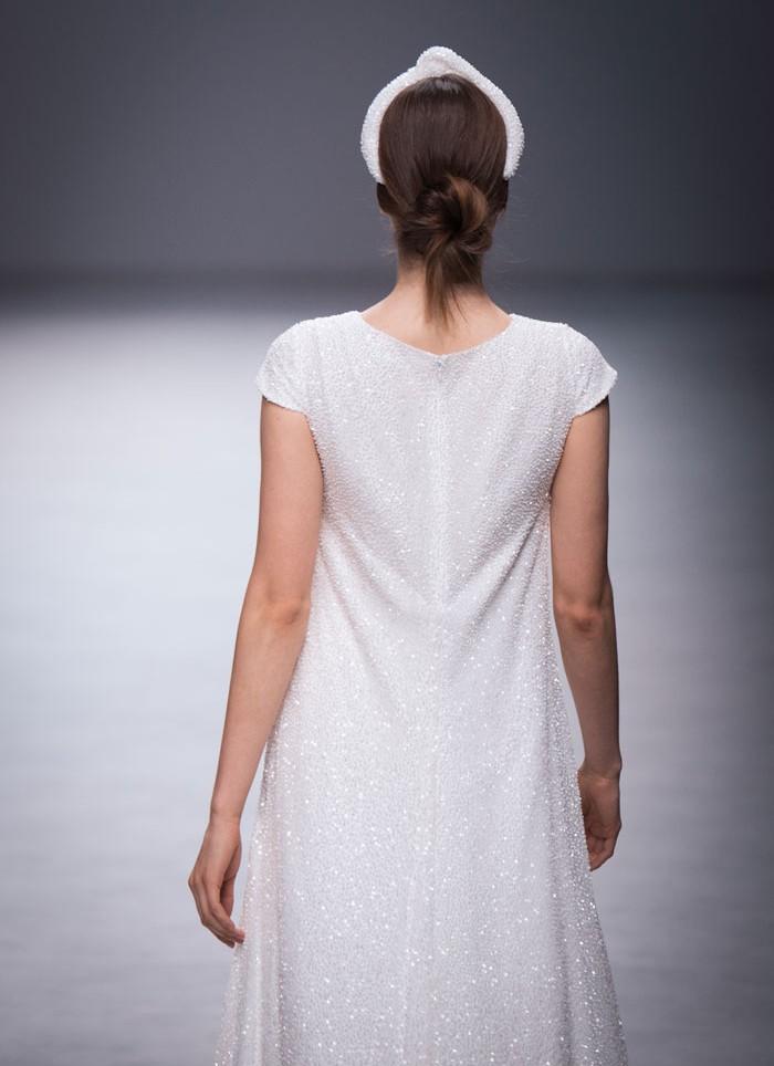 Wedding dress embroidery Cristina Tamborero