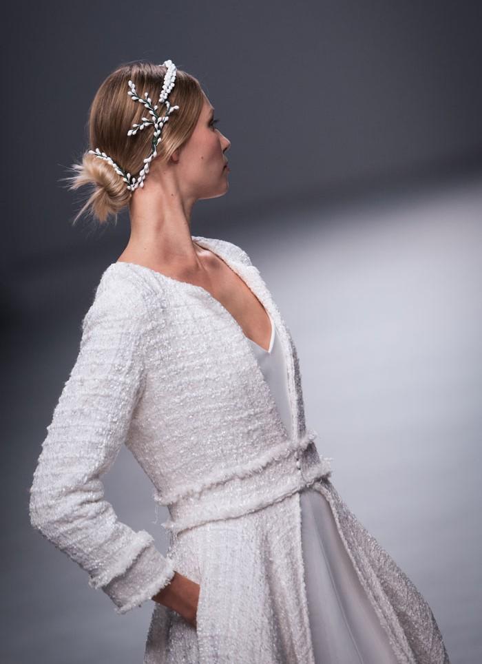 Vestido de novia abrigo Cristina Tamborero