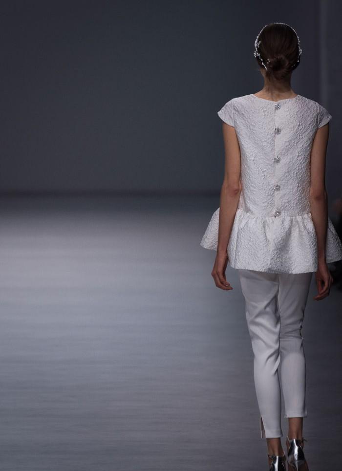 Wedding dress pants Cristina Tamborero