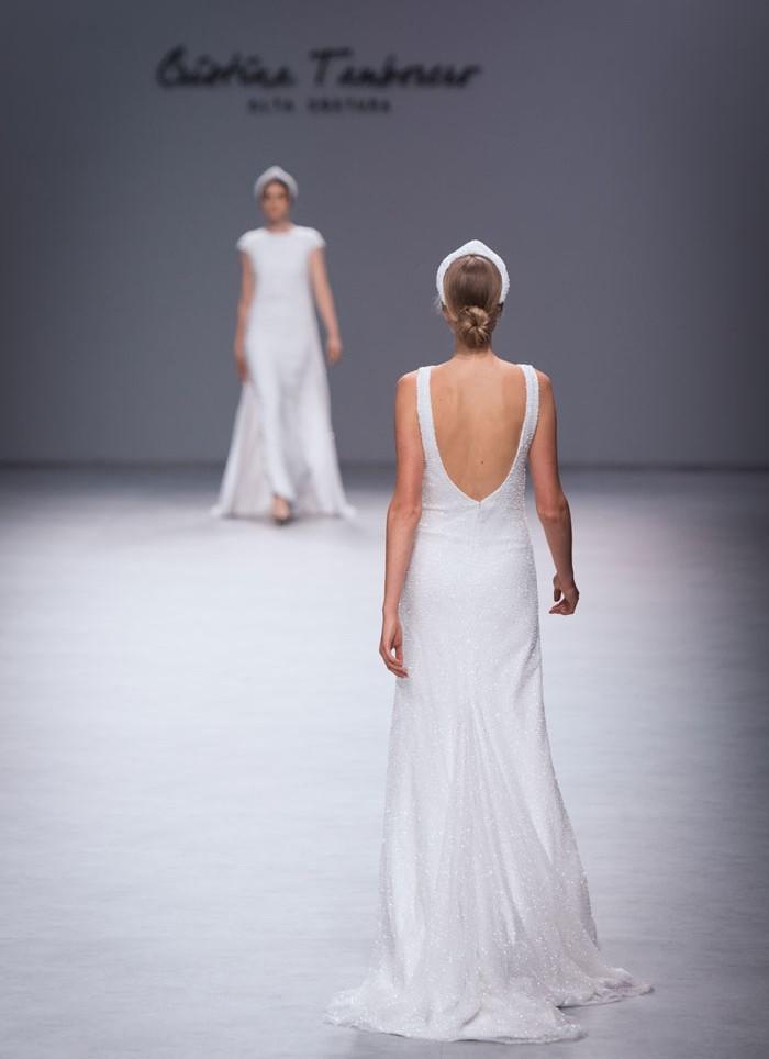 Wedding dress emboridery Cristina Tamborero