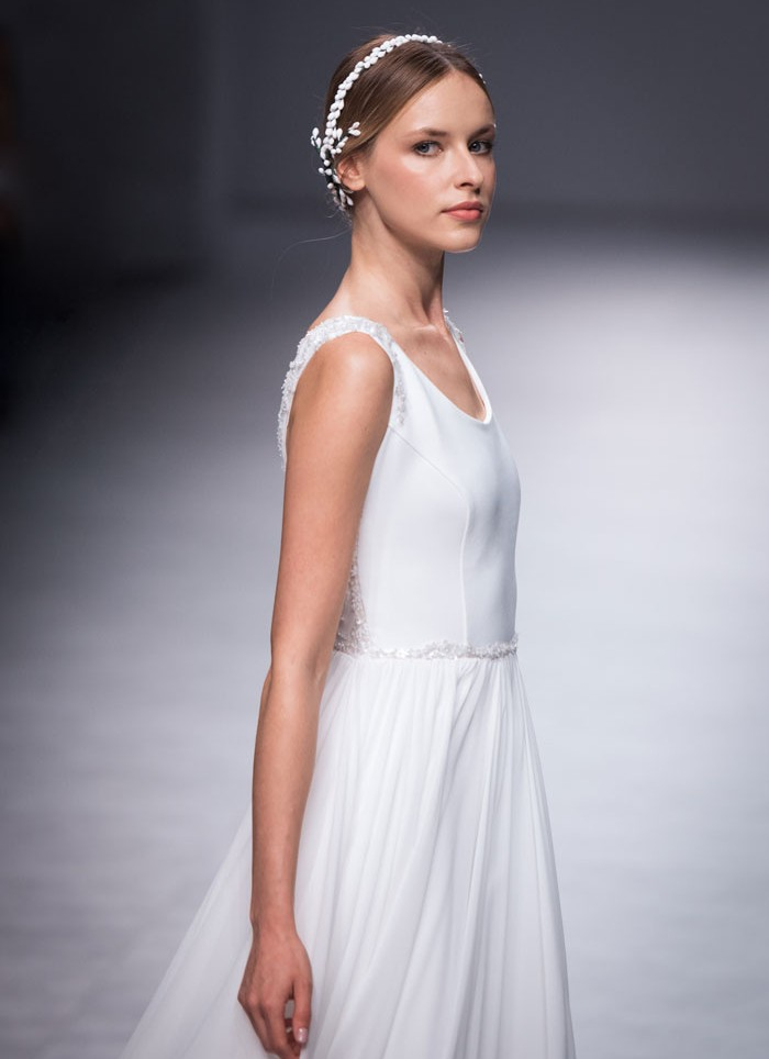 Wedding dress gasa Cristina Tamborero