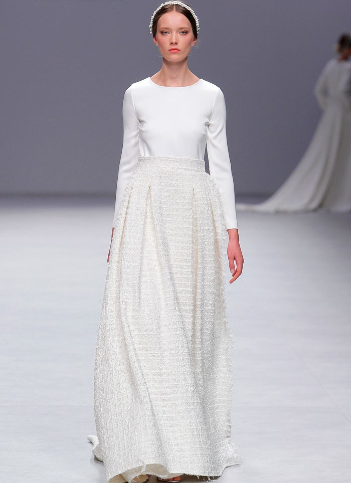 Vestido de novia princesa Cristina Tamborero