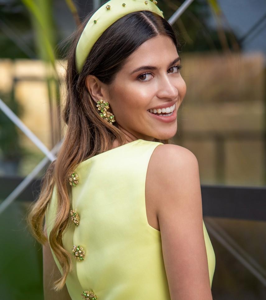 Vestido de fiesta boda Cristina Tamborero