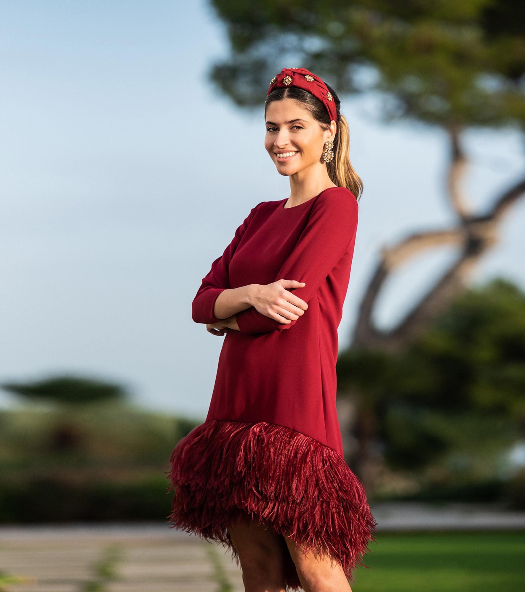 Vestido de fiesta boda de Cristina Tamborero