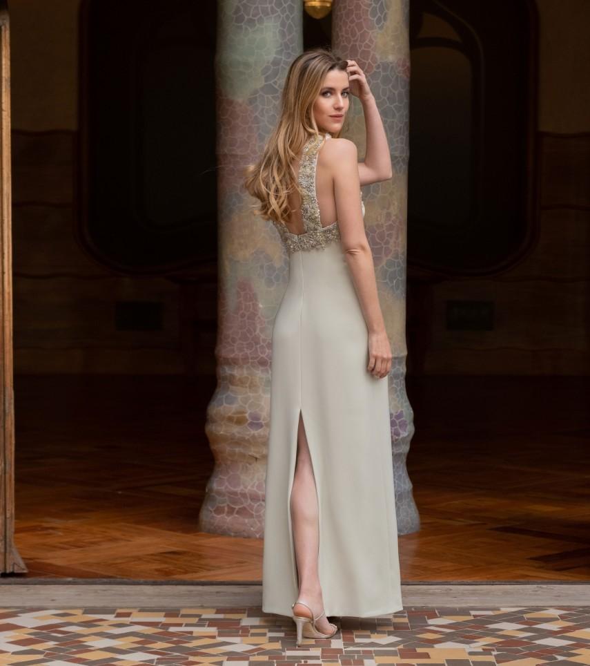 Vestido fiesta boda Cristina Tamborero